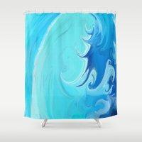california Shower Curtains featuring California by Paul Kimble