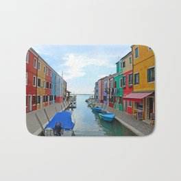 Lace Island - end of the street Bath Mat