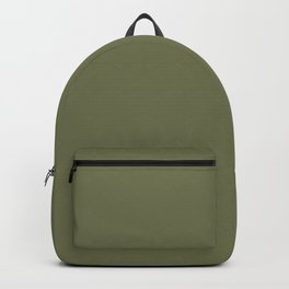 Pine Needle Green Solid Color Pairs With Behr Paint's 2020 Forecast Trending Color Secret Meadow Backpack
