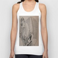 oscar wilde Tank Tops featuring Oscar Wilde Author Portrait by Wicked Ink