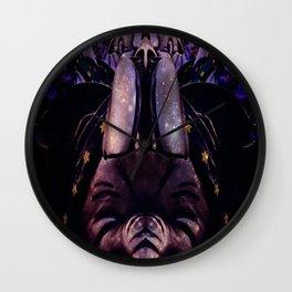 Elephants Wall Clock