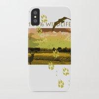 wildlife iPhone & iPod Cases featuring Wildlife by Sergio Silva Santos