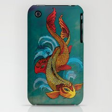 A tale of two fins. iPhone (3g, 3gs) Slim Case