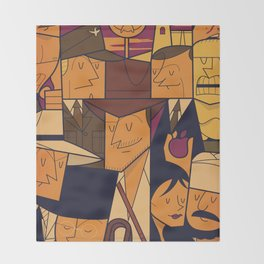 Raiders of the Lost Ark Throw Blanket fe8a00b2f