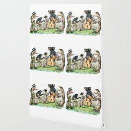 """"""" Bluegrass Gang """" wild animal music band Wallpaper"""