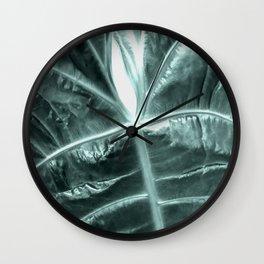 Exotic botanic Wall Clock