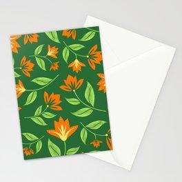 Vintage Orange Blossoms Stationery Cards