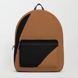 Bold Geometric Shapes - Orange Backpack