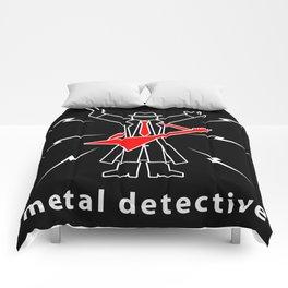 Metal Detective Comforters