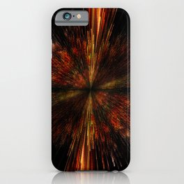 PLANET PIXEL INCEPTION iPhone Case