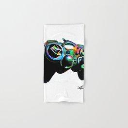 Gamepad fluorescente playstation Hand & Bath Towel
