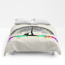 Melting Colors Parasite Comforters