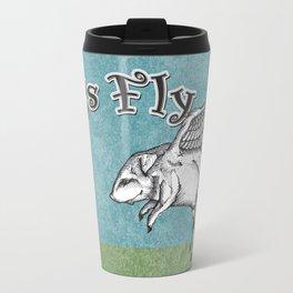 Pigs Fly Travel Mug