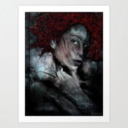 red_1 Art Print