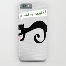 party animals - french cat iPhone 6s Slim Case