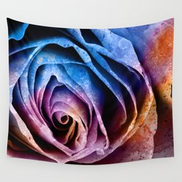 Abstract Acrylic Rose Wall Tapestry