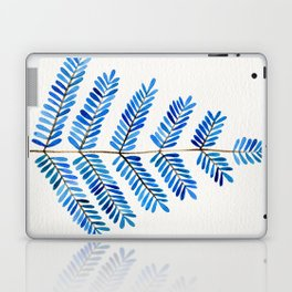 Blue Leaflets Laptop & iPad Skin