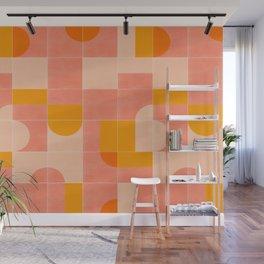 Retro Tiles 03 #society6 #pattern Wall Mural