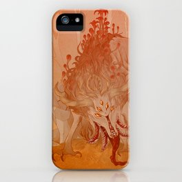 Forest Lurker iPhone Case