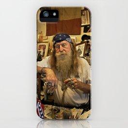 Wildman. iPhone Case