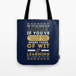 Ravenclaw Tote Bag