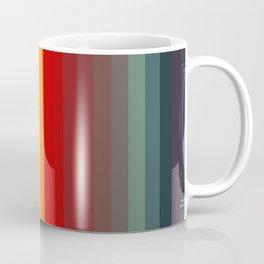 Funky Colored Strips Trending Pattern Coffee Mug