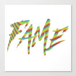 Fame Canvas Print