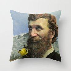 John Muir Throw Pillow