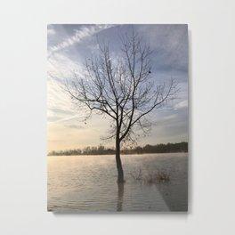 Sunrise Solitude Metal Print
