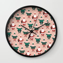 Toy Factory 02 (Patterns Please) Wall Clock