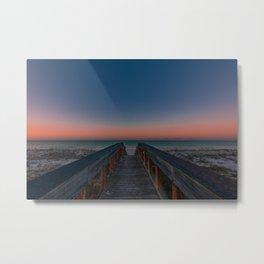 Catching sunrises at the beach Metal Print