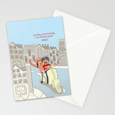 I {❤} Vespa Stationery Cards