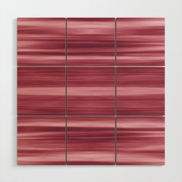 Abstraction Serenity in Rose Wood Wall Art