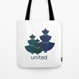 Green united Tote Bag