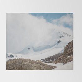 Jasper Mountains Throw Blanket