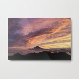 Mount Fuji I Metal Print