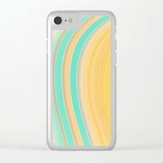 Beach Day Dreamin' Clear iPhone Case