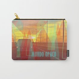 Opaque world Carry-All Pouch