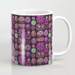 Ernst Haeckel Ascidiae Sea Squirts in Fuchsia Coffee Mug
