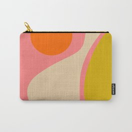 abstract composition modern blush pink Carry-All Pouch