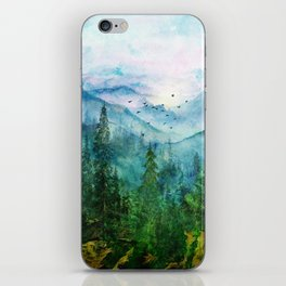 Spring Mountainscape iPhone Skin
