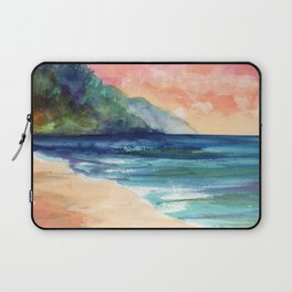 Ke'e Beach Laptop Sleeve