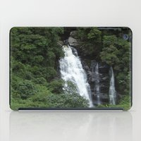 waterfall iPad Cases featuring WATERFALL by Caio Trindade