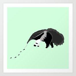 Giant anteater Art Print