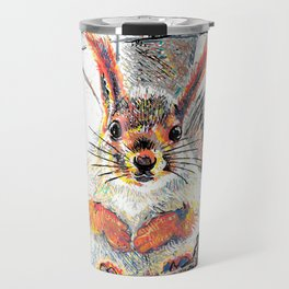 Big cut eyes Travel Mug
