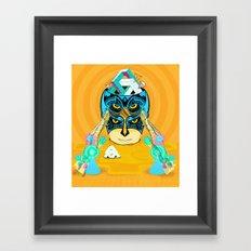 SER Framed Art Print