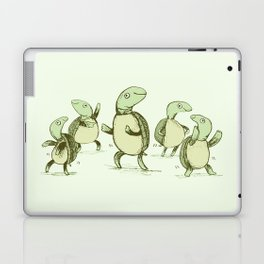 Dancing Turtles Laptop & iPad Skin
