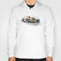 racing Hoodies featuring racing car3 by tatiana-teni