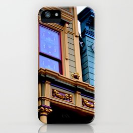 Grand Dame With Old Blue iPhone Case