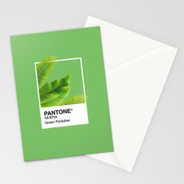 Pantone Series – Green Paradise Stationery Cards